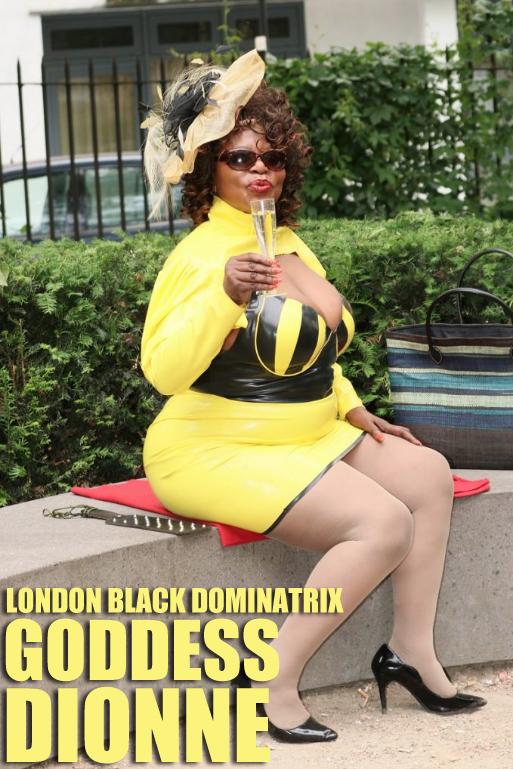 Black London Dominatrix – Goddess Dionne